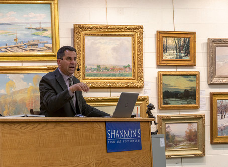LIVELY BIDDING AND STRONG RESULTS AT SHANNON'S