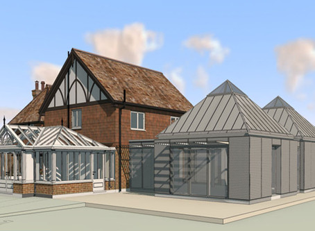 Sevenoaks Listed Building Contemporary Extension