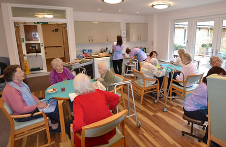 Hartley House Care Home Cranbrook Dining Area