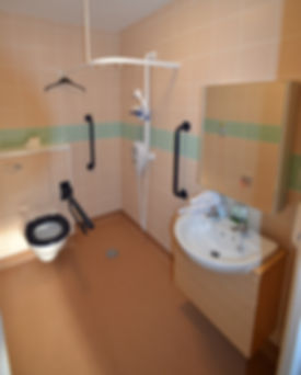Hartley House Care Home Cranbrook Typical Shower