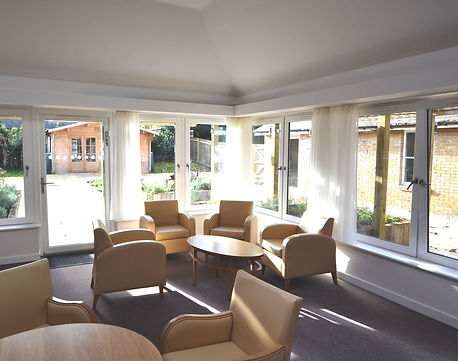Hartley House Care Home Cranbrook Sitting Area