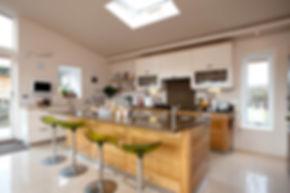 Oen plan kitchen