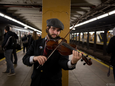 The Subway Violinist