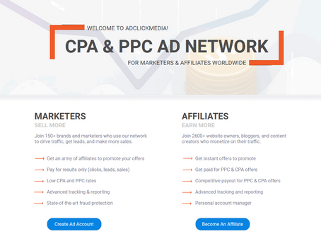 Best CPA/PPC Network For Affiliate Marketers & Publishers