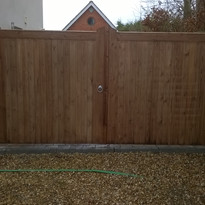 Closed Garden Gates