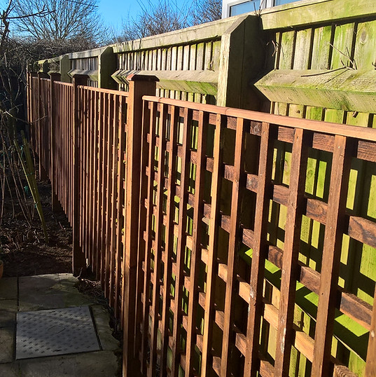Fitted Trellis
