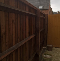 Installed Wooden Fence