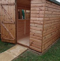 Fitted shed