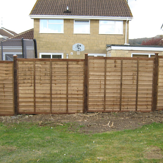 Installed Fence Panels