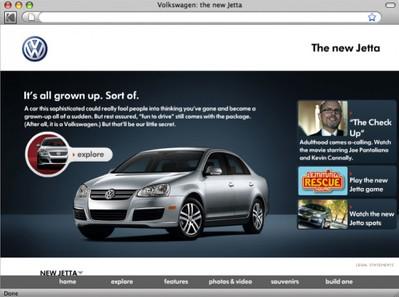 VW Jetta Re-Design