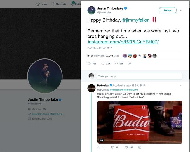 Fallon + Timberlake Response
