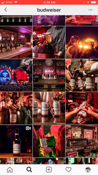 Budweiser Global Instagram
