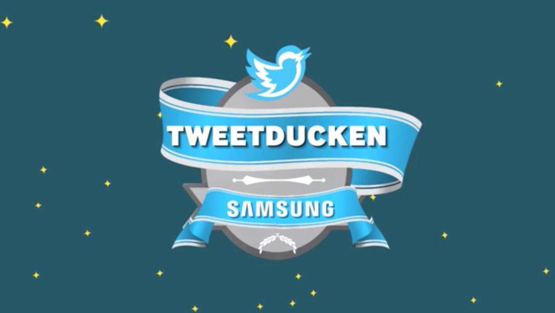 Samsung Tweetducken