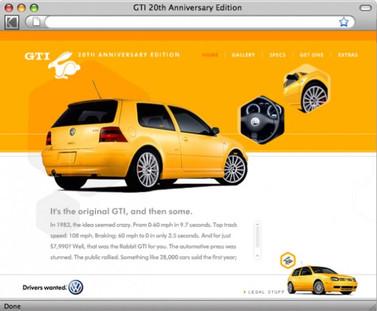 VW GTI 20th