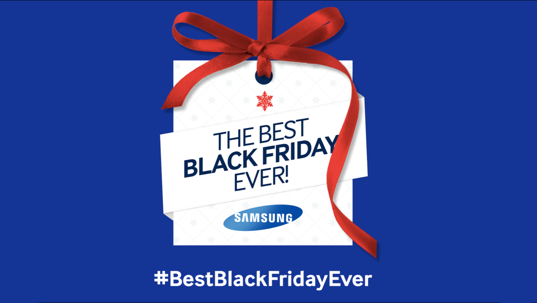 Samsung Best Black Friday Ever