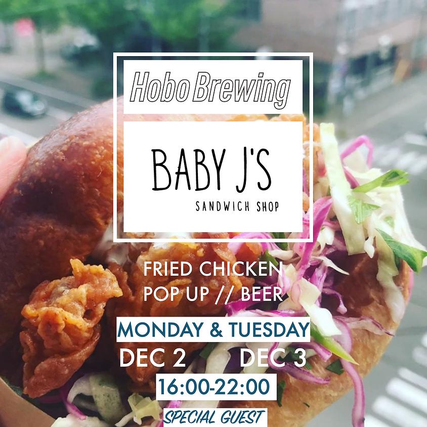 Baby J's Chicken X Hobo Brewing