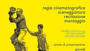 Siete invitati alla LEZIONE APERTA di CINEMA e presentazione dei corsi 2019-2020!