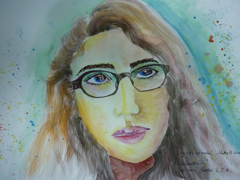 Maha's Portrait.JPG