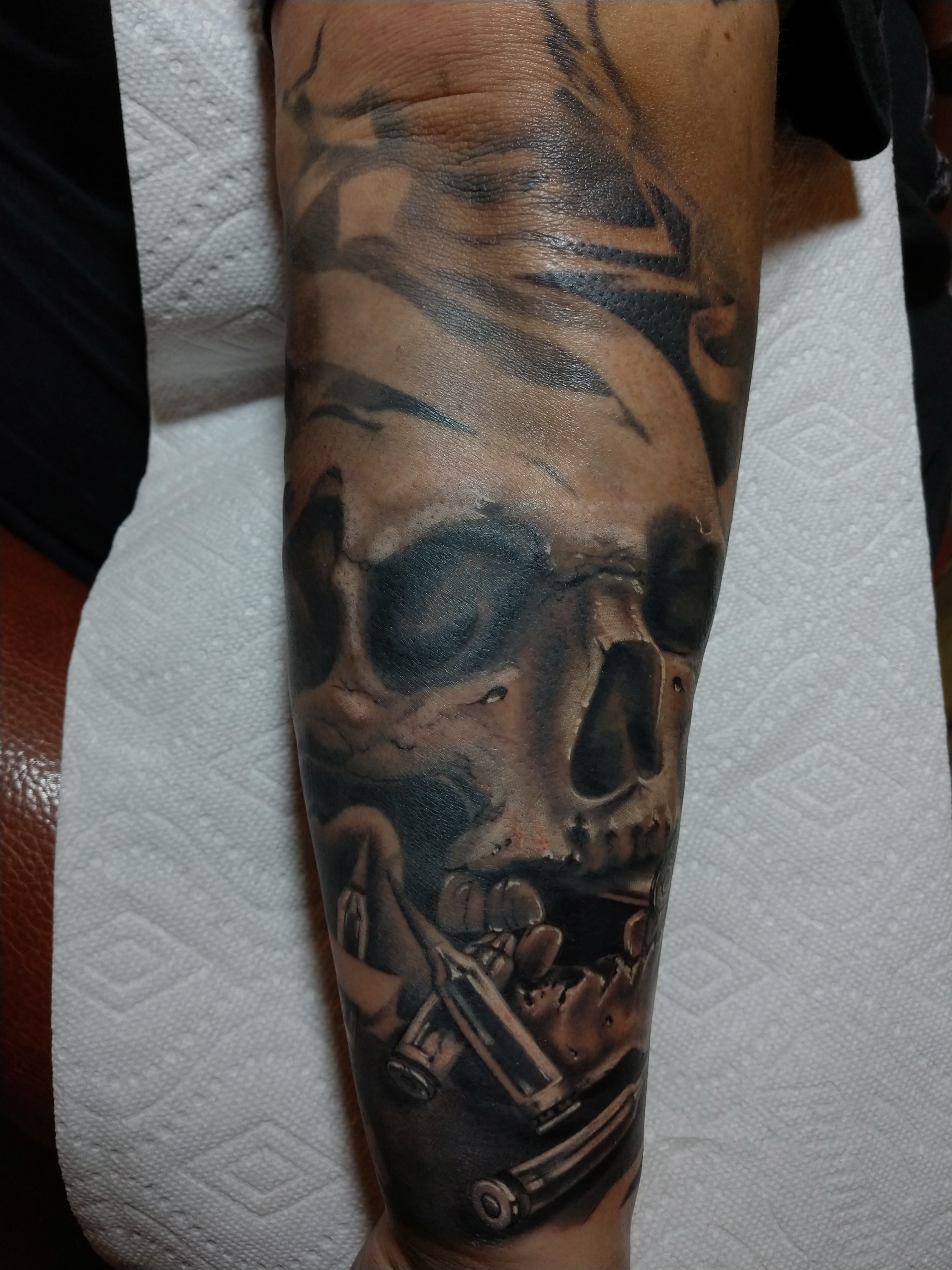 Long Tattoo Session