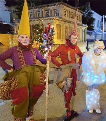 Lutins et Elfe de Lumière
