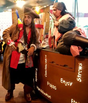 Repos des pirates