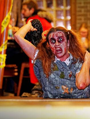 zombie au sol
