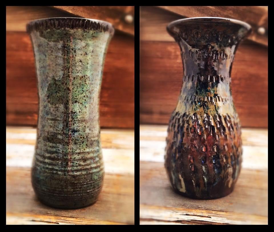 twin vases