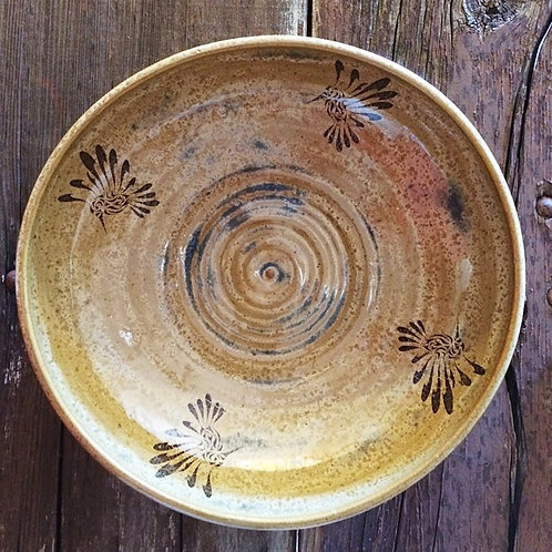 Humming Bird Bowl - One of a Kind