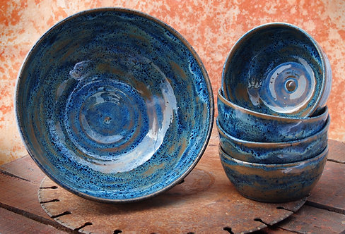 Terra Blue Bowl Set