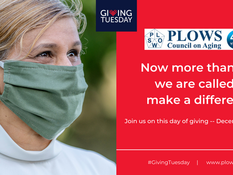 PLOWS Celebrates GivingTuesday on December 1, 2020