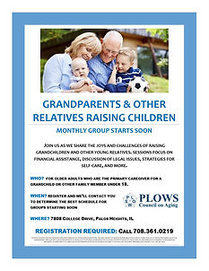 Grandparents support group starts soon 7