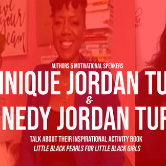 Mom & Daughter Create New Book 'Little Black Pearls For Little Black Girls'