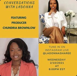 2.10.21 - Conversations With LaDonna S. Jackson