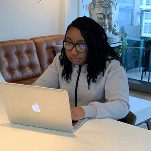 Charima David - the freelance writer and hopeless romantic.