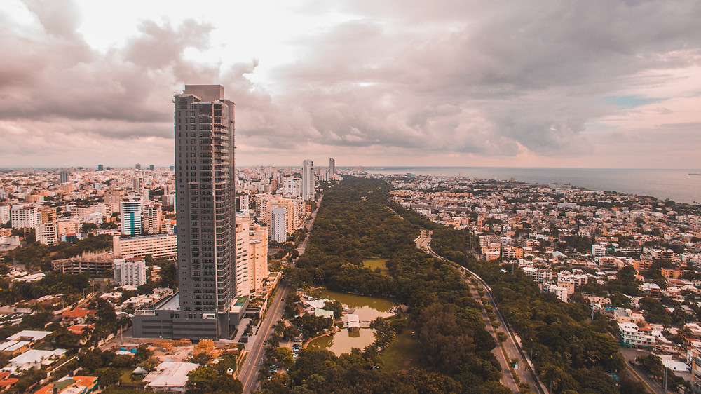 Dominican Republic Aerial View