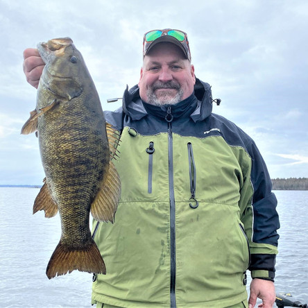 MICHIGAN + SMALLMOUTH = A VERY HAPPY PLACE