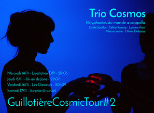 GuillotièreCosmicTour#2 à Lyon !