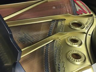 Piano restoration work on Mason & Hamlin
