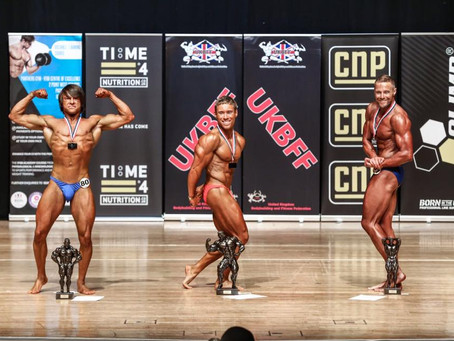 I placed 3rd in the UKBFF Welsh championships!