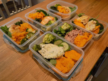 2 Day Meal Prep example