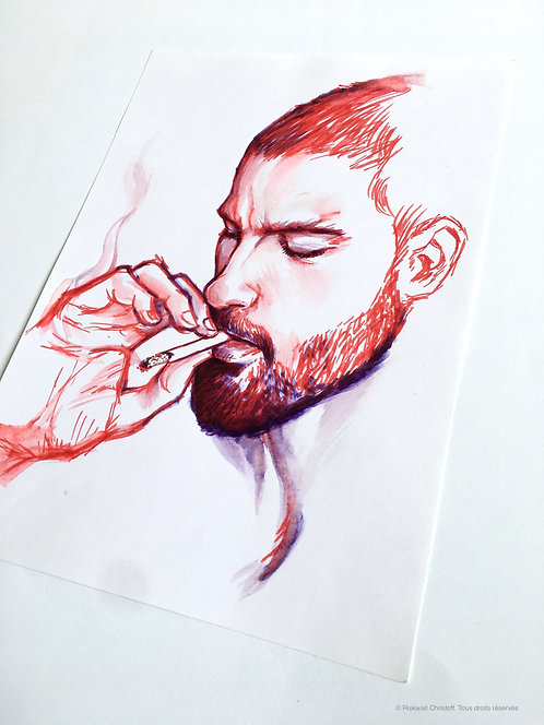 Portrait Colors n° 25 - Smoker 1