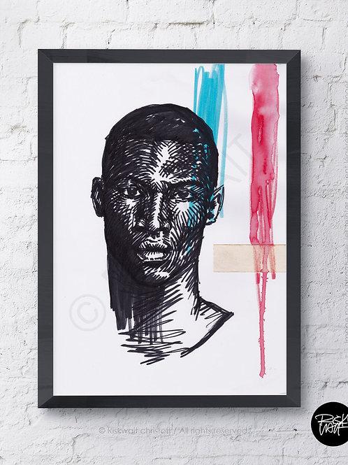 Portrait Colors n°7 - AFRO KING 3