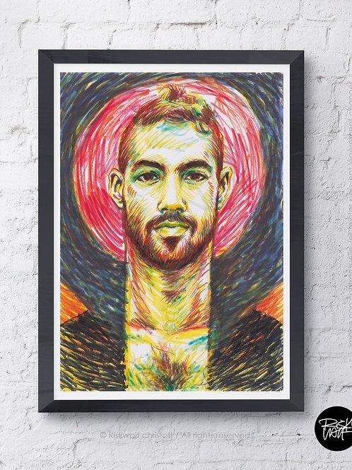 Portrait Colors n° 26 - Samuel