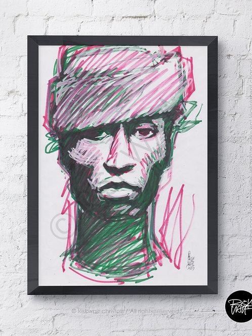 Portrait Colors n°8 - Keziah