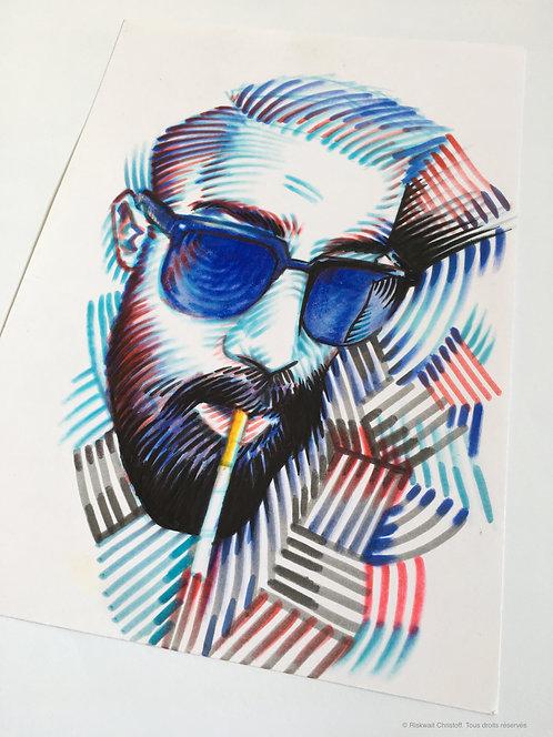 Portrait Colors n° 24 - Smoker 2