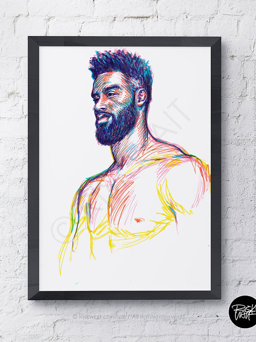 Portrait Colors n°4 - Alijah 2