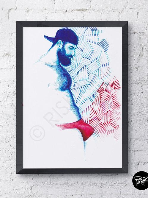 Portrait Colors n°13 - Illustration