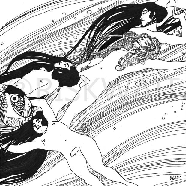 Interpretation de l'illustration Apathy de Gustav klimt