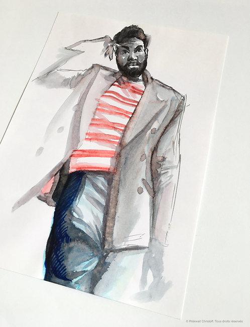 Portrait Colors n°15 - Illustration
