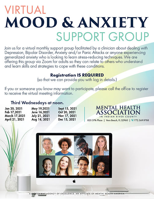 VIRTUALmood and anxiety support group 20